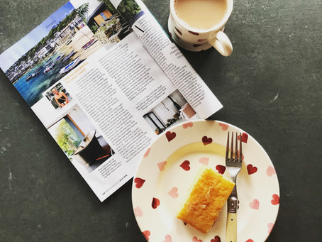 Fallen Angel Featured in Red Magazine's Escapes Pages