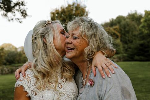 Intimate family wedding