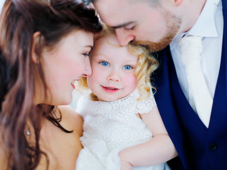 A small wedding with just family
