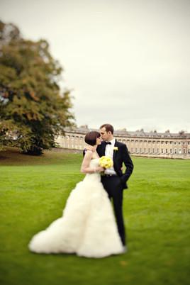 Runaway wedding near London Marianne Taylor Royal Crescent wedding.j