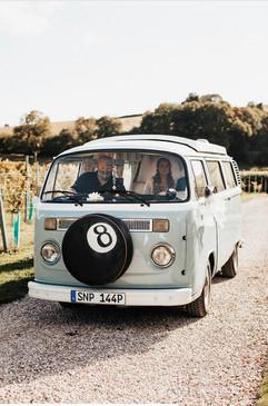 Toby the VW Camper van