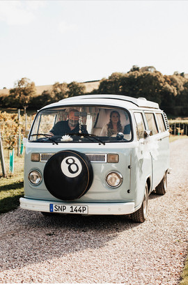 Toby the VW Camper van