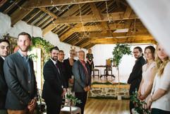 Bridal entrance at Chypraze Wedding Barn