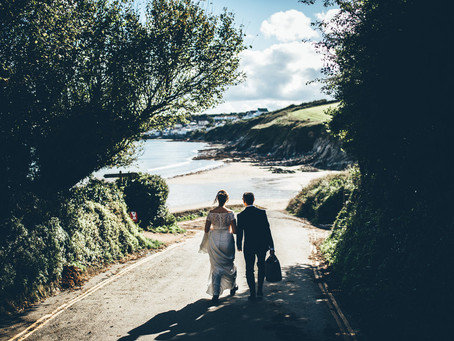 Intimate Elopement by The Sea