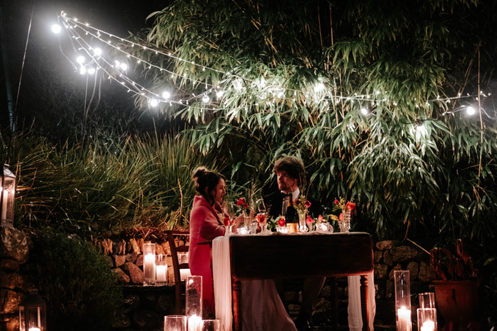 Bespoke romantic dining