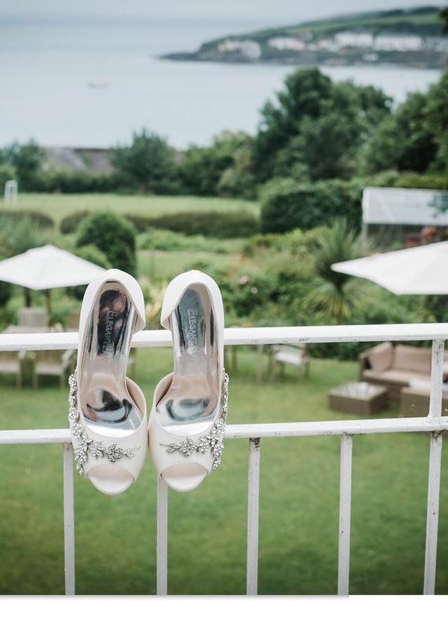 Wedding details at The Rosevine