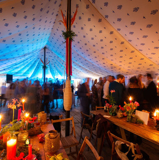 Wedding evening at Porthpean House