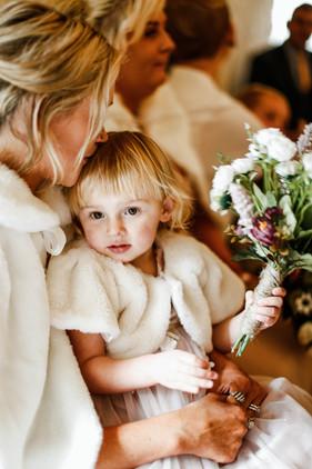 small family wedding