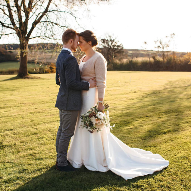 Autumn light at Camel Studio Intimate wedding