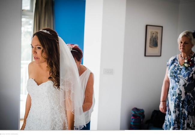 Runaway bride at The Rosevine