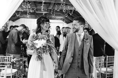 Just got married at Chypraze Wedding Barn