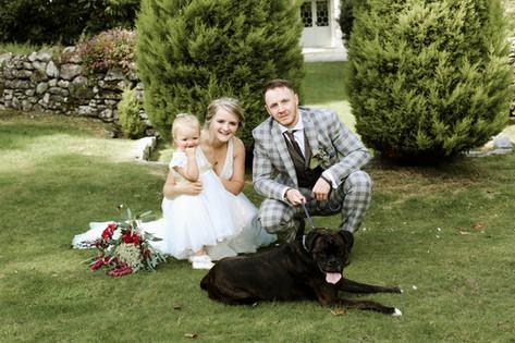 family wedding day