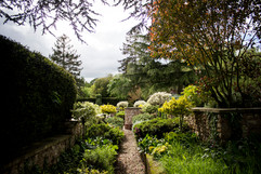 Garden elopement for 2