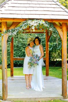 indoor and outdoor wedding venue