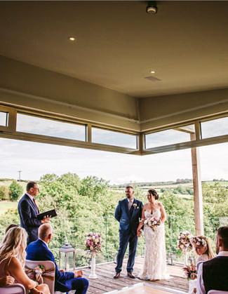 Tree Top Escape Intimate Wedding