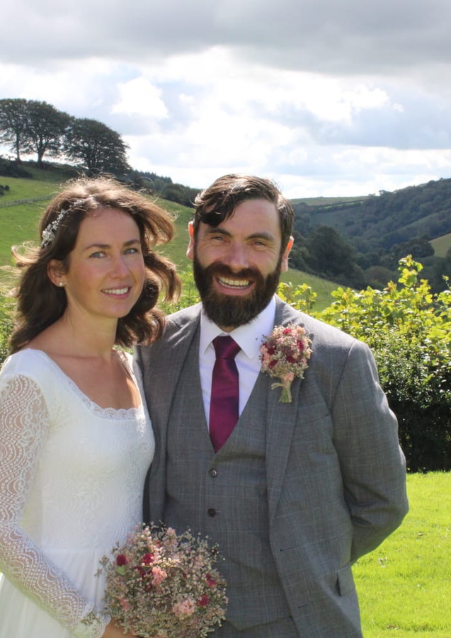 Countryside elopement