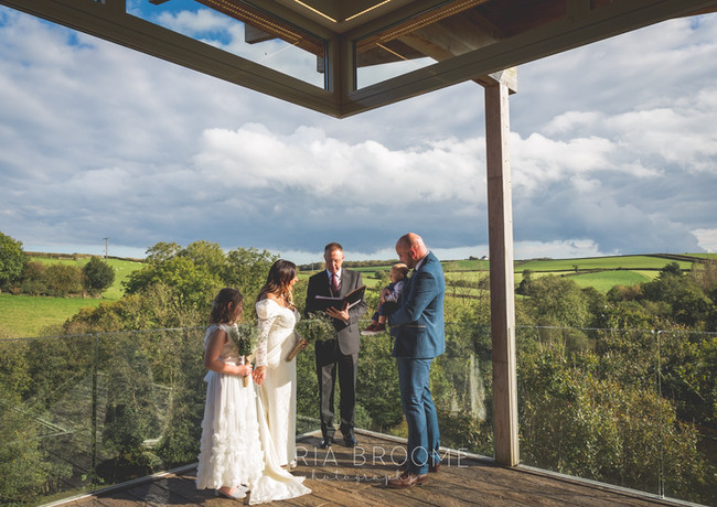Intimate wedding bliss at tree Top Escape