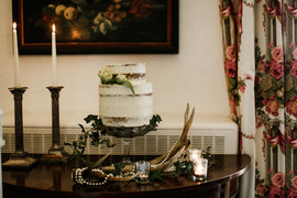 Luxe wedding cake