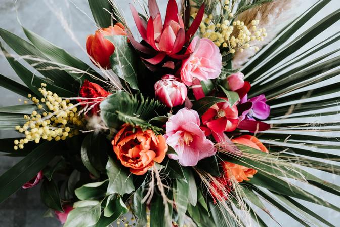 Bridal bouquet Fallen Angel