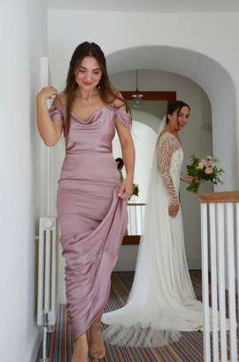 Bridal party at Treseren