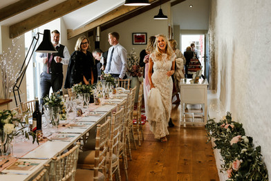 family wedding dining