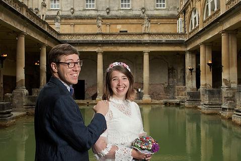 67.Sunrise Wedding in The Roman Baths. B