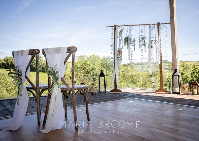 Beautiful Elopement Wedding Styling