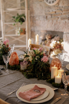 Styling by Piccolo Weddings at Tregoose