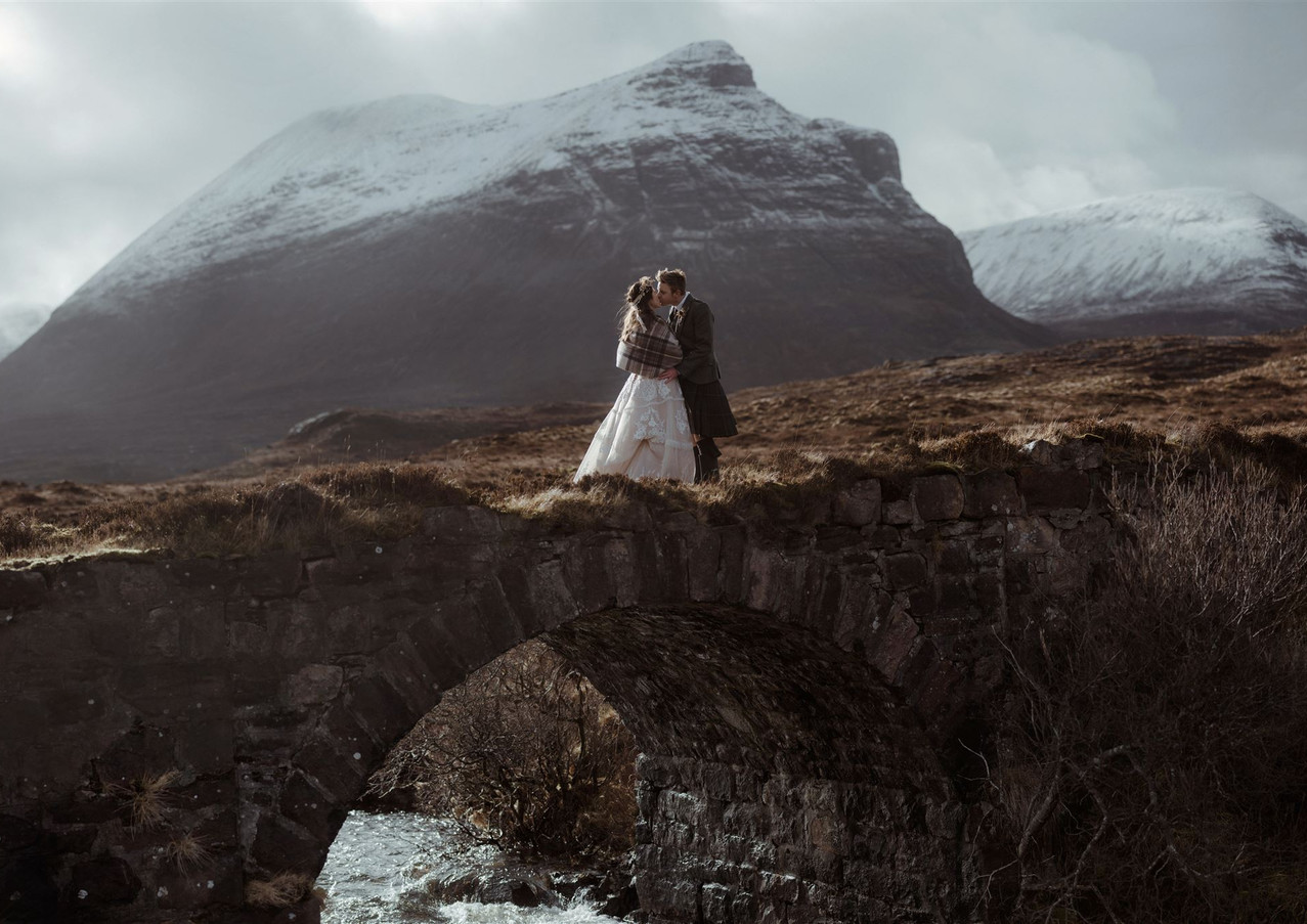 Assynt Elopement Wedding in Scotland by The Caryls