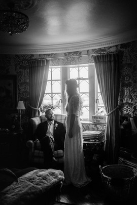 Intimate wedding day photography