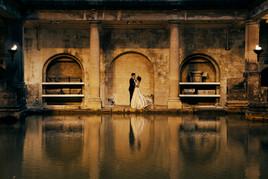 Intimate wedding Bath