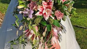 Wedding Flowers In Cornwall By Katie of Brookside farm