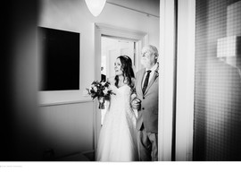Intimate wedding ceremony at The Rosevine