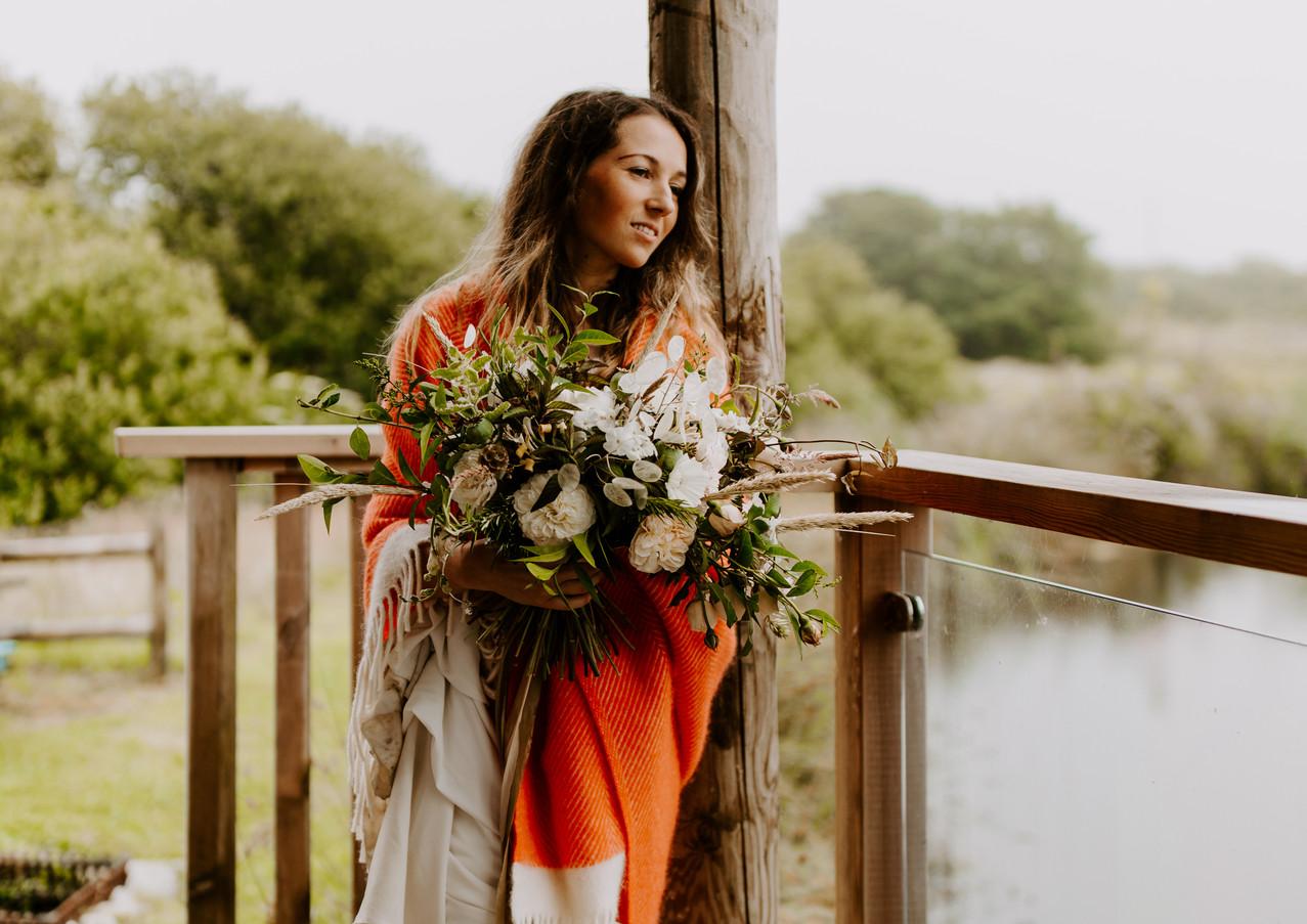 Romantic Elopement at Pengelly Retreat