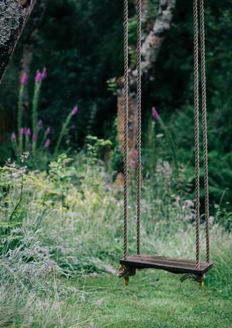 Swing at Pengelly Retreat