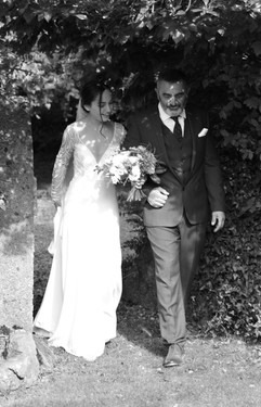 Bridal entrance at Treseren