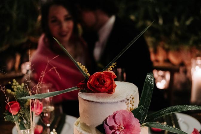 Wedding cake at Fallen Angel