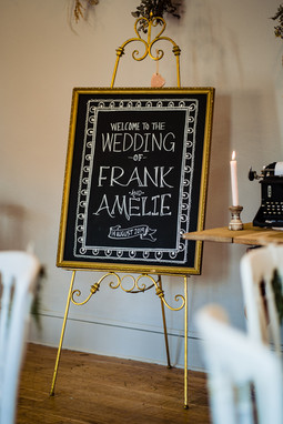 Intimate wedding pub