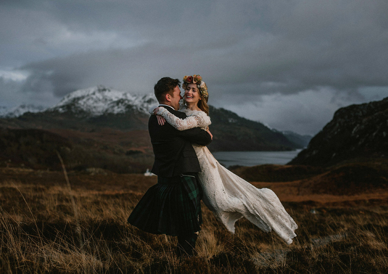 Scottish Highland elopement by The Caryls