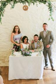 quiet wedding