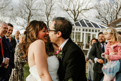 Relaxed wedding at Tregoose