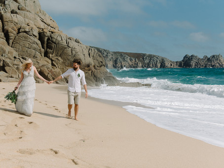 Destination wedding UK - Cornwall