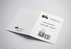 Brochure A4 2 volets externes canitruffe
