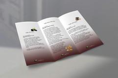 Dépliant 3 volets internes Mockup par Co