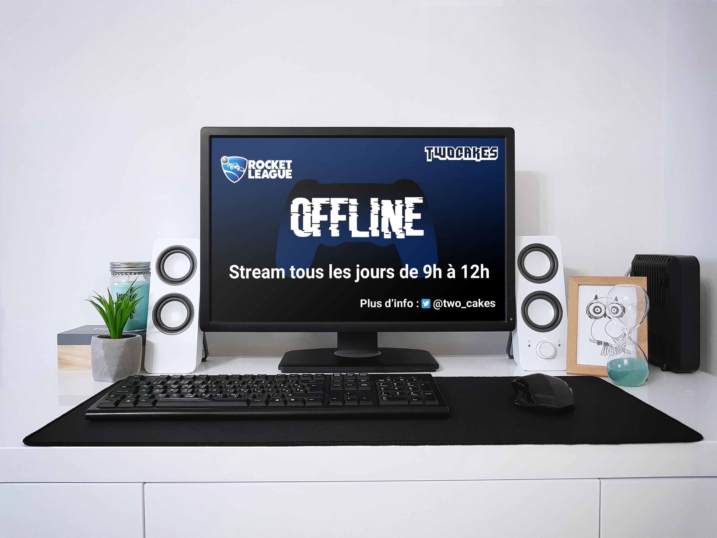 Ecran d'ordinateur Twocakes Mockup par C