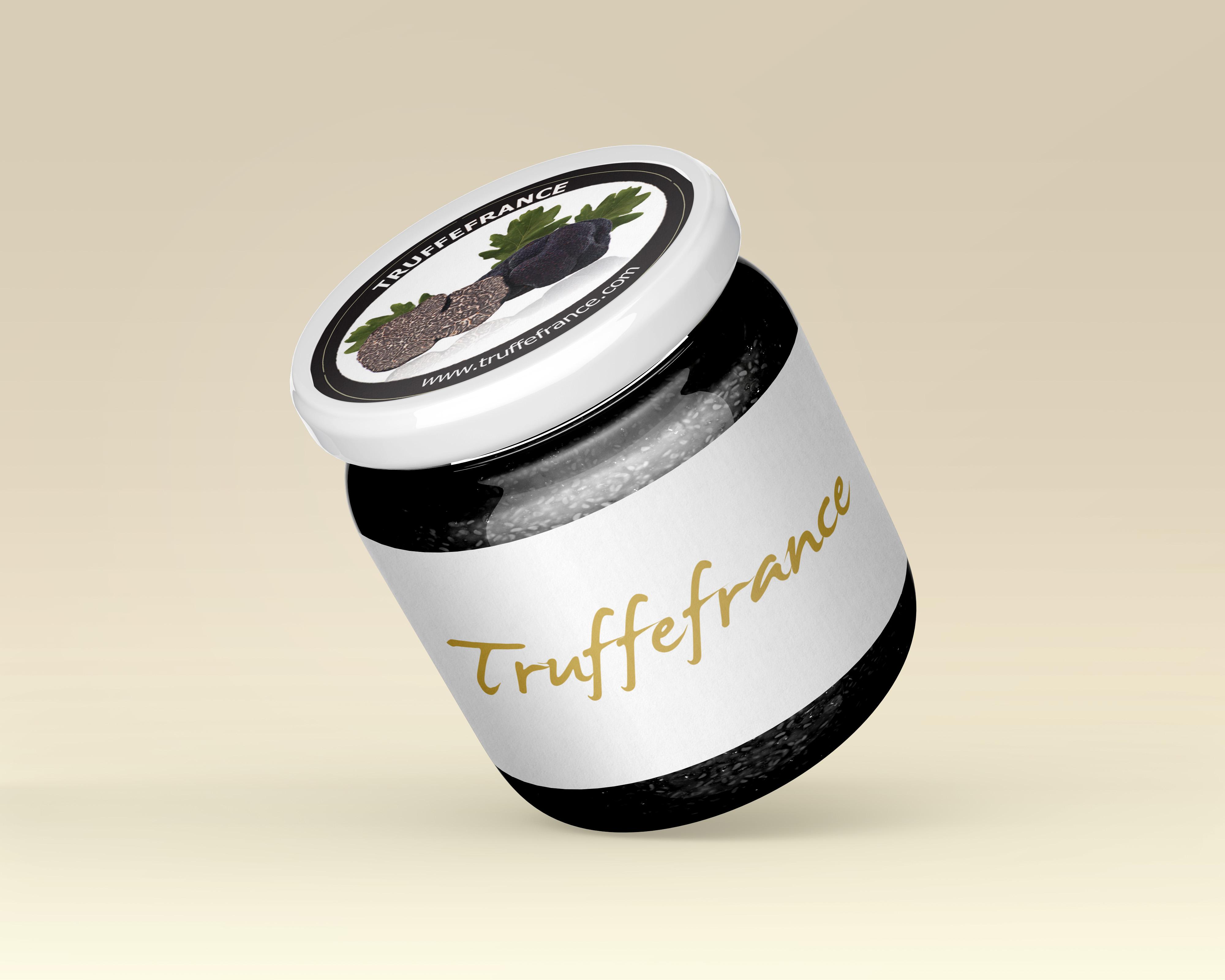 mockup CorazyOwl pot de truffe noire