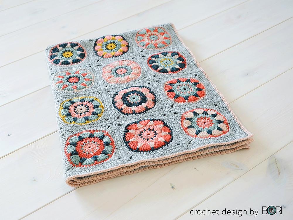 diy crochet pattern baby girl blanket