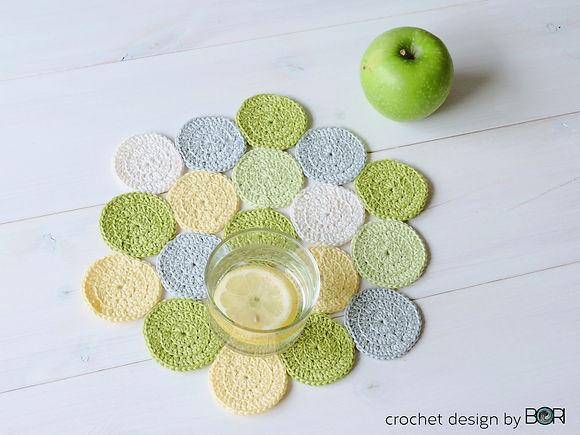 easy free crocheted tablewear patten