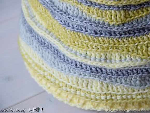 crochet beanie pattern pdf