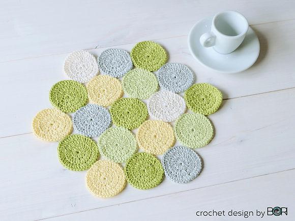 free crochet pdf placemat pattern